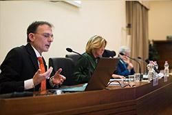 Il presidente dell'associazione EpaC Onlus Ivan Gardini